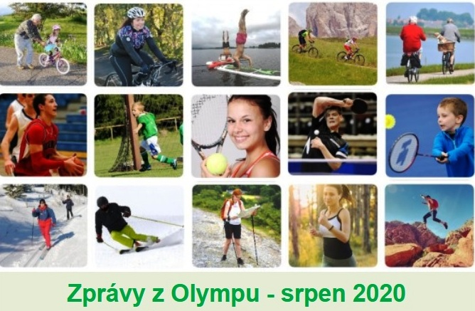 Zprávy z Olympu - SRPEN 2020