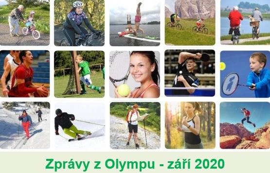 Zprávy z Olympu - ZÁŘÍ 2020