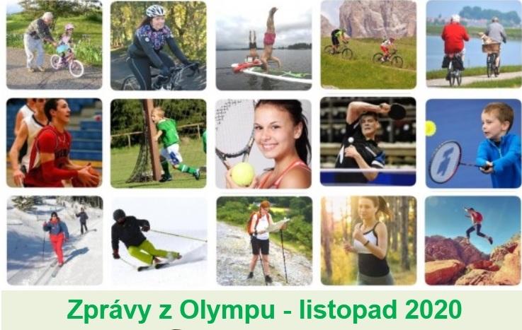 Zprávy z Olympu - LISTOPAD 2020