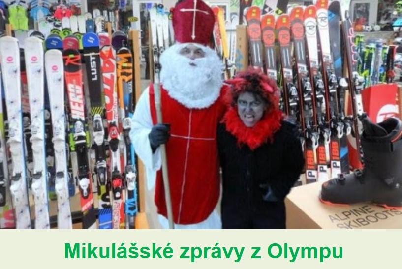 Mikulášské zprávy z Olympu - 6.12.2020