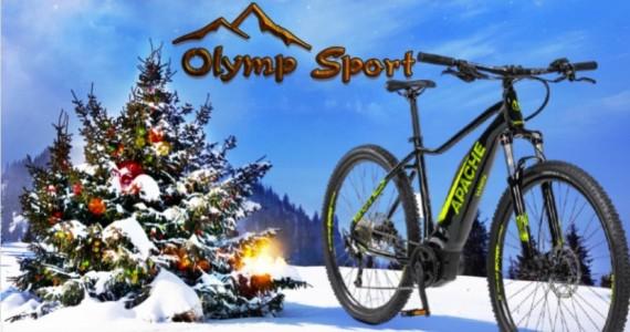 Vánoční zprávy a přání z Olympu  - PROSINEC 2020