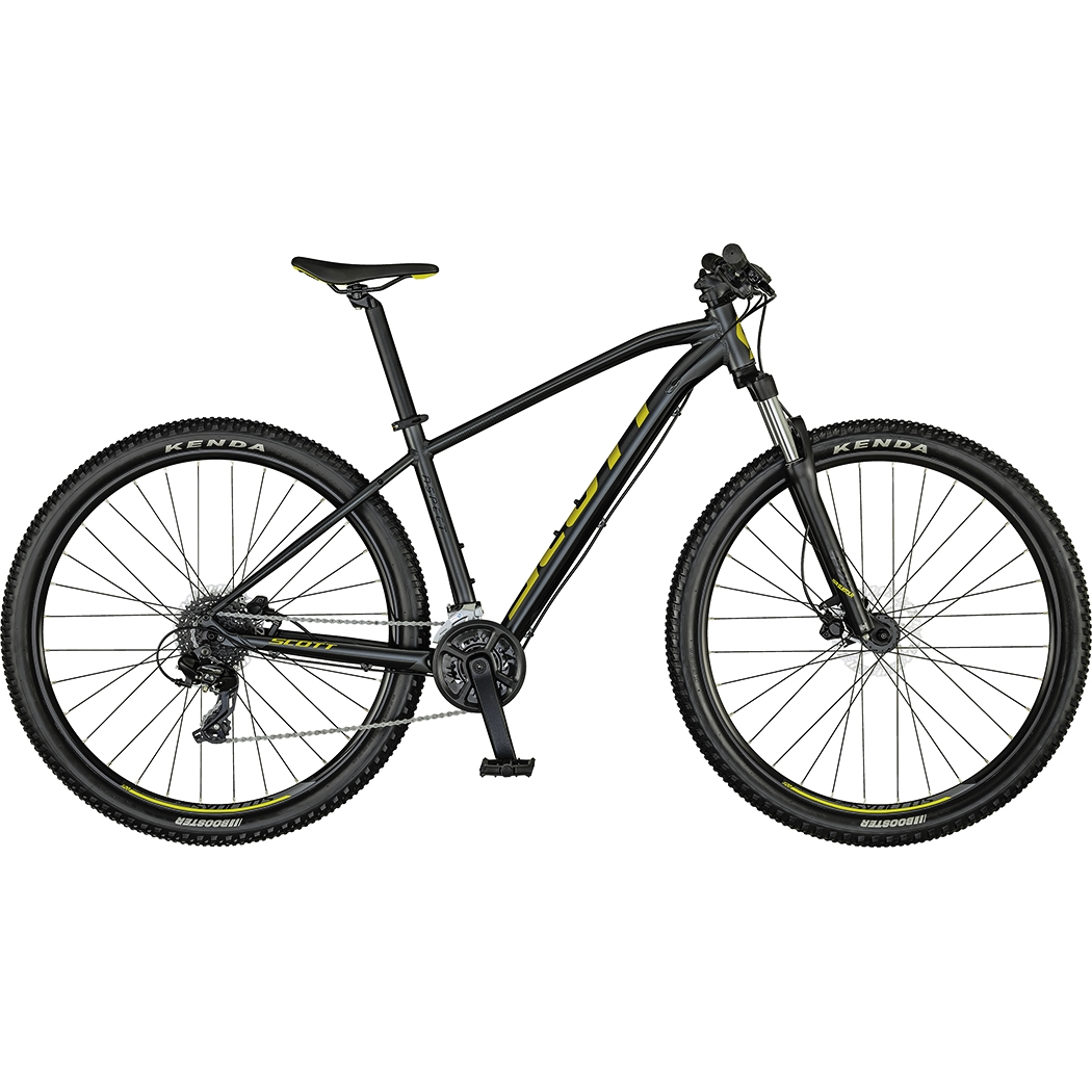 "Scott Aspect 960 2021 - horské kolo 29"" - dark grey/yellow - vel. (M)"